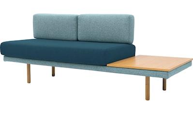 170QM Sofa »Pausenzeit«, Modernes Daybed, Ablage und Rücken rechts oder links montierbar kaufen