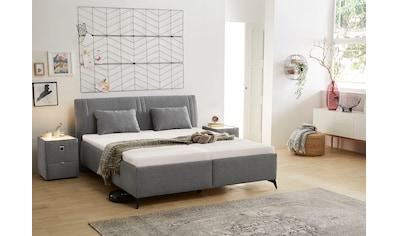Jockenhöfer Gruppe Polsterbett, mit integrierten Federholzleisten, festem... kaufen