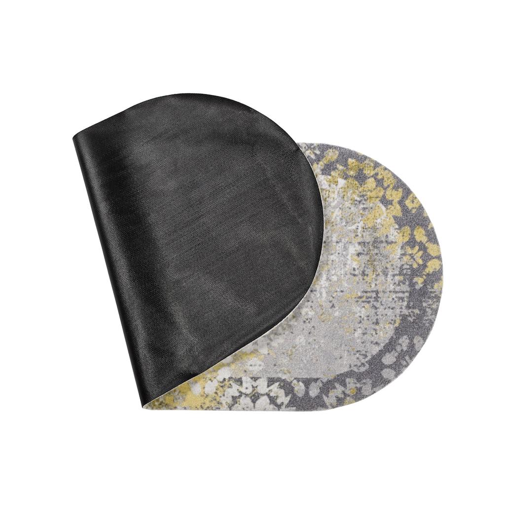 Fußmatte ORNAMENT oval in besonderer Form