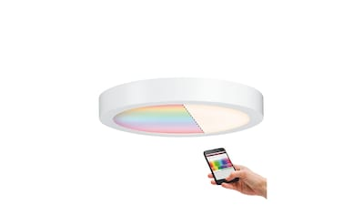 Paulmann,LED Panel»Cesena RGBW 300mm 17W Weiß matt 230V Metall ZigBee«, kaufen