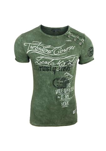 Rusty Neal T - Shirt mit Allover - Print kaufen