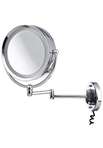Möve LED-Lichtspiegel »Spiegel mit Schwenkarm«, (1 St.), mit 5-fach Vergrößerung,... kaufen