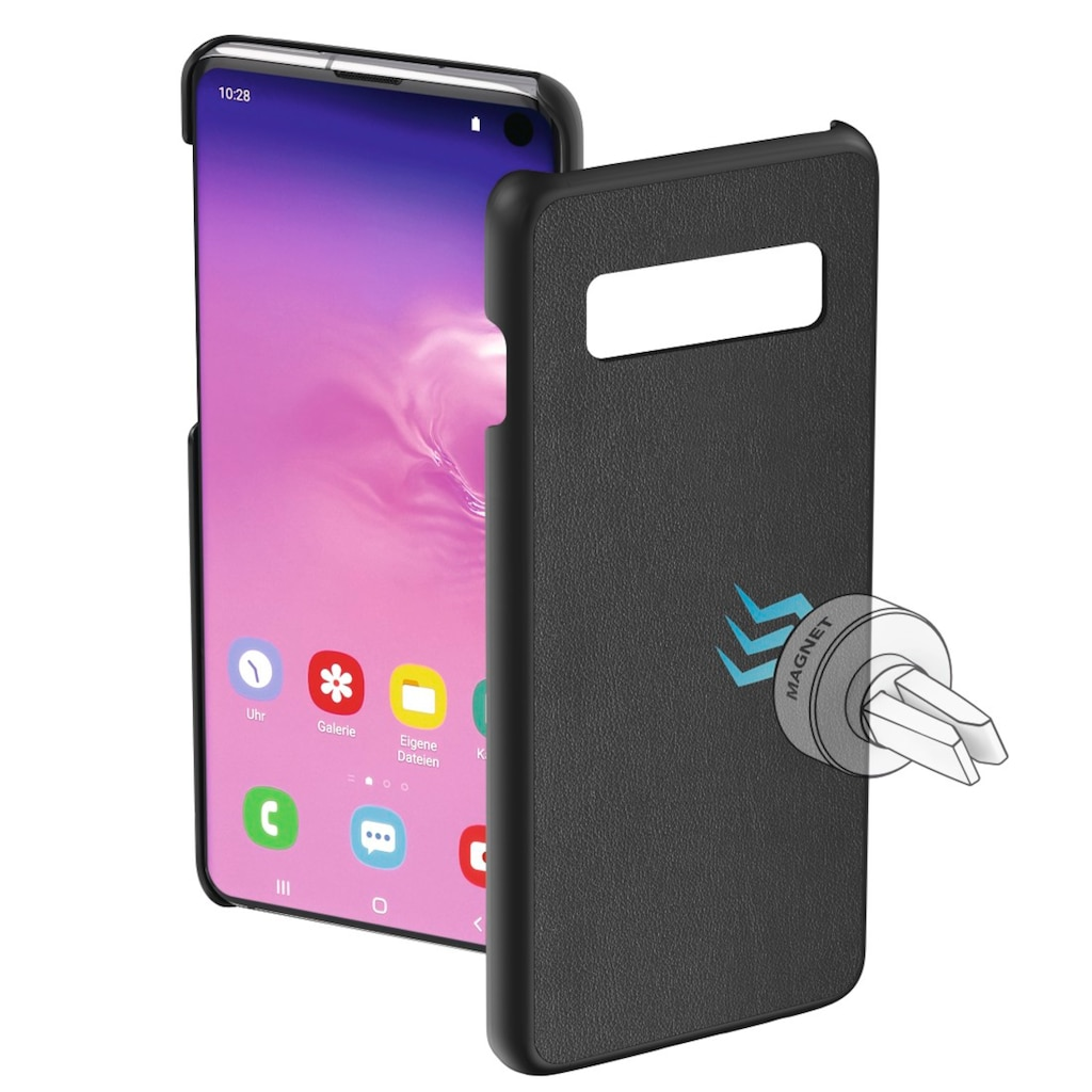 """Hama Cover, Hülle """"Magnet"""" für Samsung Galaxy S10, Schwarz"""
