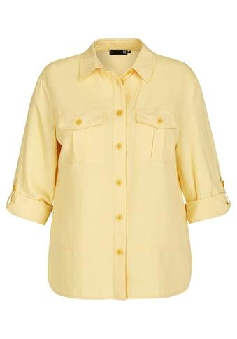 Thomas Rabe Hemdbluse, mit Ziertaschen und Riegeln an den Ärmeln kaufen