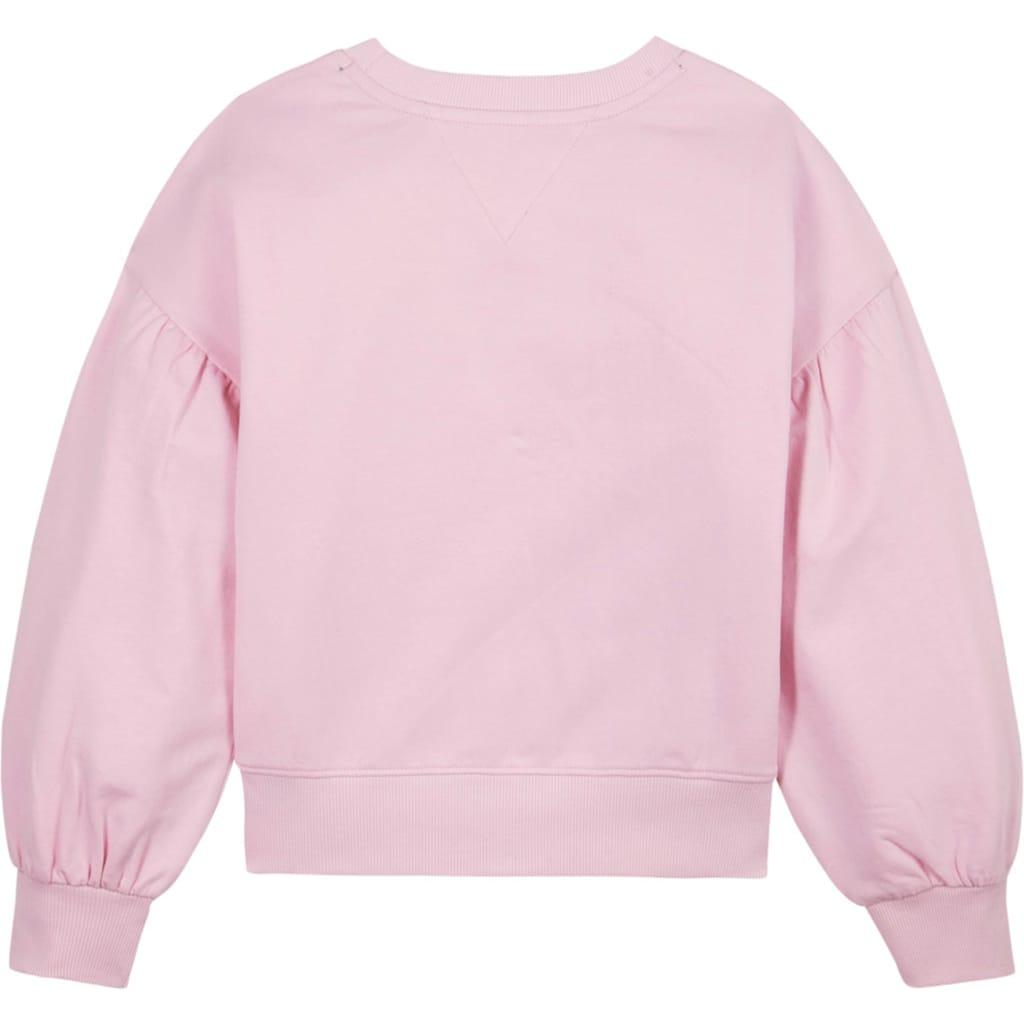 TOMMY HILFIGER Sweatshirt, mit extra weiten Ärmeln