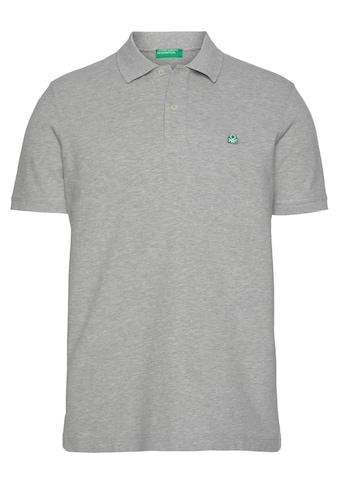 United Colors of Benetton Poloshirt, mit Logostickerei kaufen