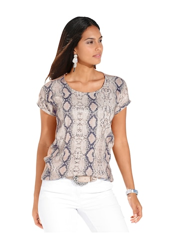 Amy Vermont Print-Shirt, mit stilisiertem Snake-Druck im Vorderteil kaufen