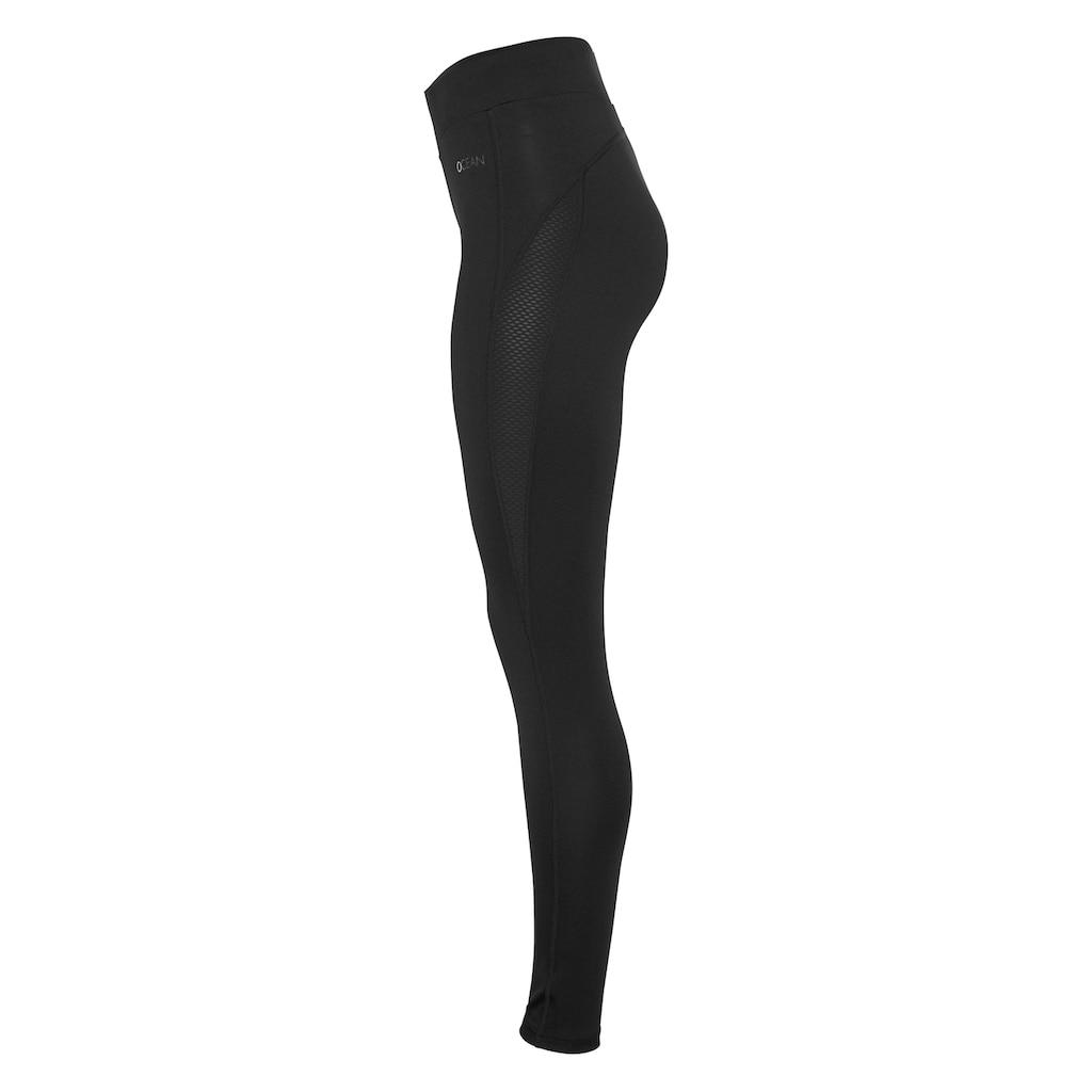 Ocean Sportswear Leggings »Yoga-Tights«, mit Mesh-Einsätze