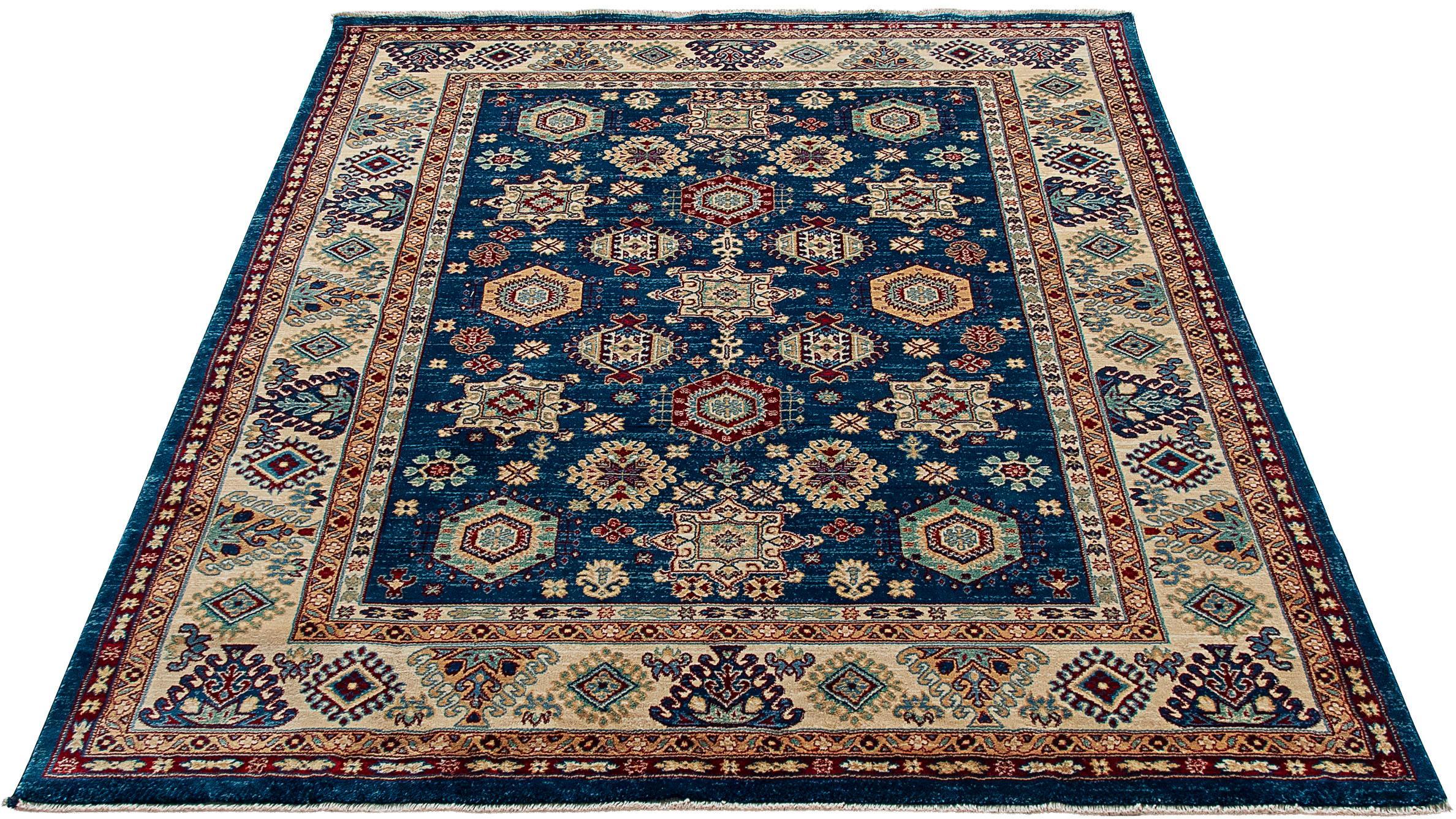 Teppich Ornament 1349 Sehrazat rechteckig Höhe 10 mm maschinell gewebt