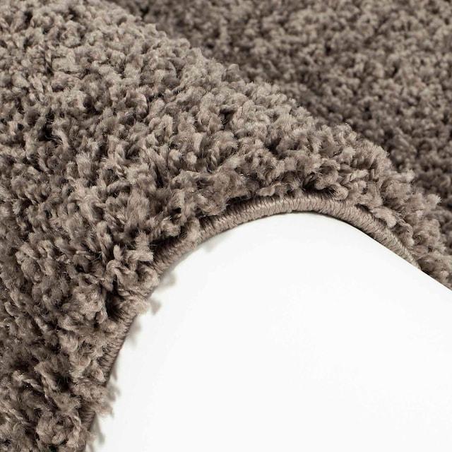 Hochflor-Teppich, »Shaggi uni 500«, Carpet City, rechteckig, Höhe 30 mm, maschinell gewebt