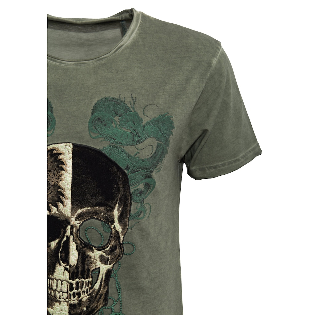 Way of Glory T-Shirt, mit 3D Gummiprint