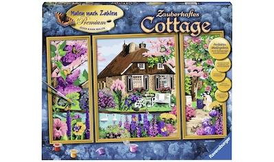 Ravensburger Malen nach Zahlen »Zauberhaftes Cottage«, Made in Europe, FSC® - schützt Wald - weltweit kaufen