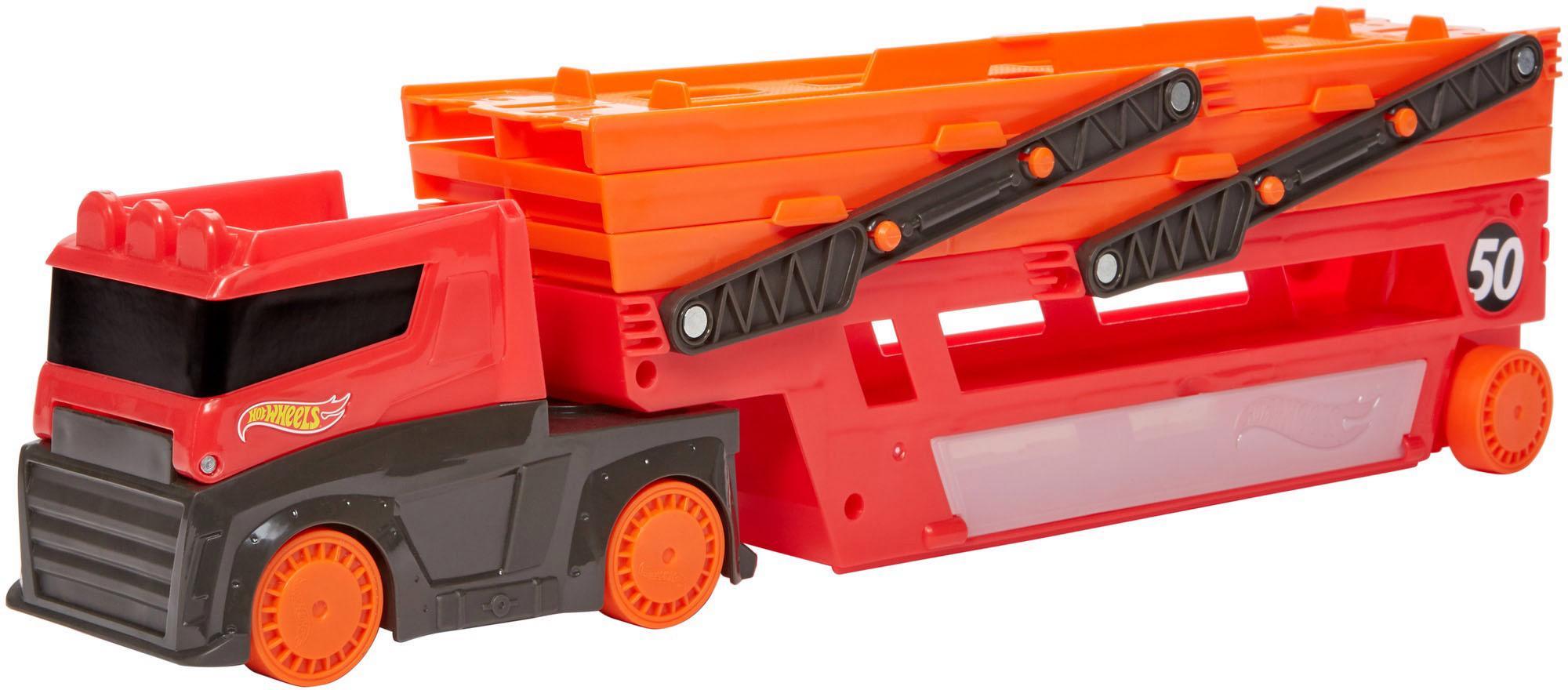"""Hot Wheels Spielzeug-LKW """"Mega-Truck für Spielzeugautos"""" Kindermode/Spielzeug/Autos, Eisenbahn & Modellbau/Spielzeugautos/Spielzeug-LKW"""