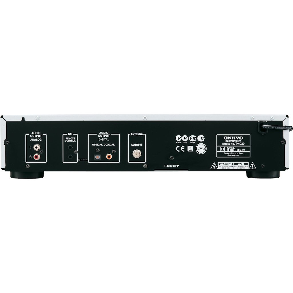 Onkyo »T-4030« Radio (Digitalradio (DAB+),AM-Tuner,FM-Tuner)