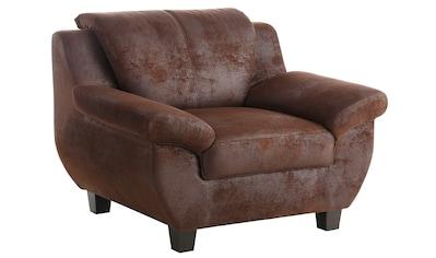 Home affaire Sessel »Yesterday«, in 3 Bezugsqualitäten kaufen