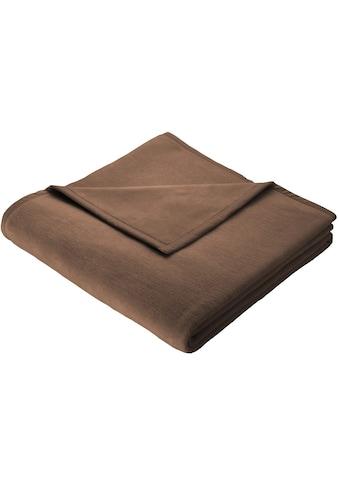 BIEDERLACK Wohndecke »Thermosoft Uni«, gute Wärmehaltung kaufen