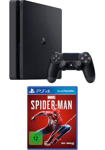 PlayStation 4 Slim (PS4 Slim) 500 GB (Bundle, inkl. Spider - Man) kaufen