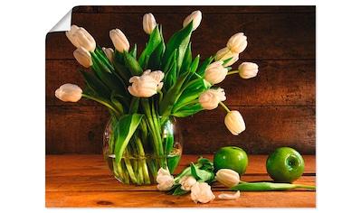 Artland Wandbild »Tulpen in Glasvase« kaufen