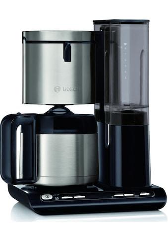 BOSCH Filterkaffeemaschine TKA8A683 Styline mit Thermokanne, Papierfilter 1x4 kaufen