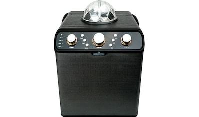 Schwaiger Bluetooth Lautsprecher, Party Speaker mit Disco - Licht »Karaoke, FM, AUX, USB, SD« kaufen