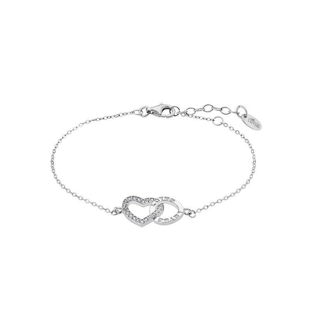 LOTUS SILVER Silberarmband »Herz, Moments, LP1864-2/1«