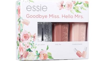 essie Nagellack-Set »Bride Set Goodbye Miss. Hello Mrs.«, (Set, 3 tlg.) kaufen