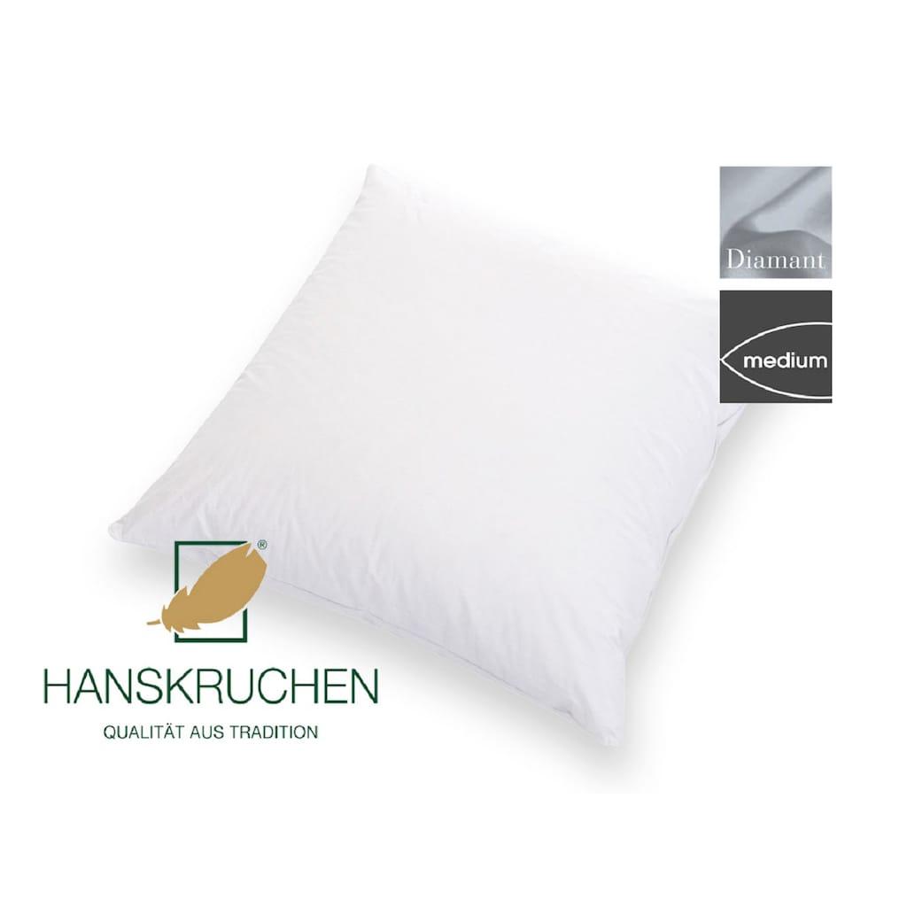 HANSKRUCHEN Daunenkissen »Diamant«, (1 St.)