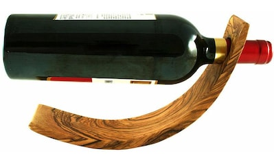 Olivenholz-erleben Weinflaschenhalter »Mond« kaufen