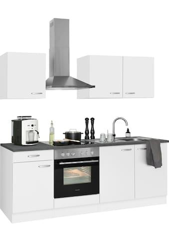 OPTIFIT Küchenzeile »Parare«, 210 bzw. 270 cm mit Hanseatic E-Geräten, wahlweise mit oder ohne Kühlschrank kaufen