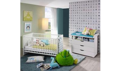 rauch BLUE Babymöbel-Set »Bristol«, (Spar-Set, 2 tlg.), Bett + Wickelkommode kaufen