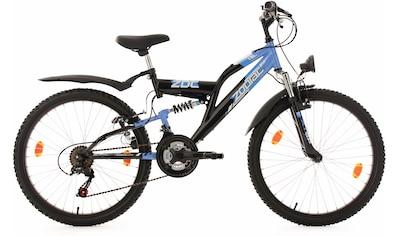 KS Cycling Jugendfahrrad »Zodiac«, 18 Gang, Shimano, Tourney Schaltwerk, Kettenschaltung kaufen