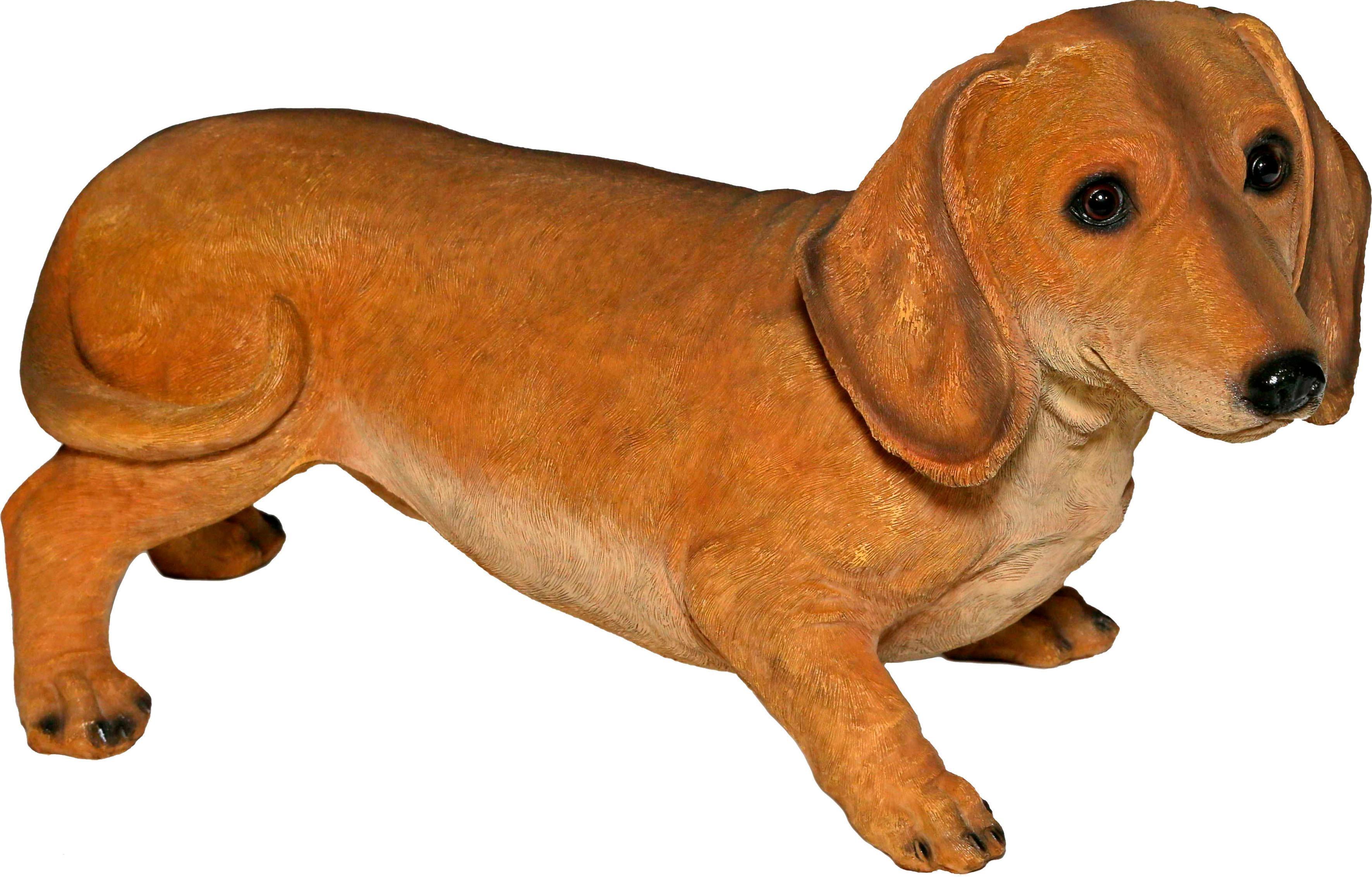 Casa Collection by Jänig Tierfigur, Dackel, braun Tierfiguren Figuren Skulpturen Wohnaccessoires Tierfigur
