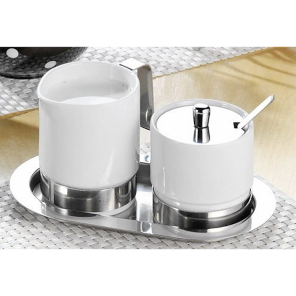 Esmeyer Milch- und Zuckerset, (4 tlg.)