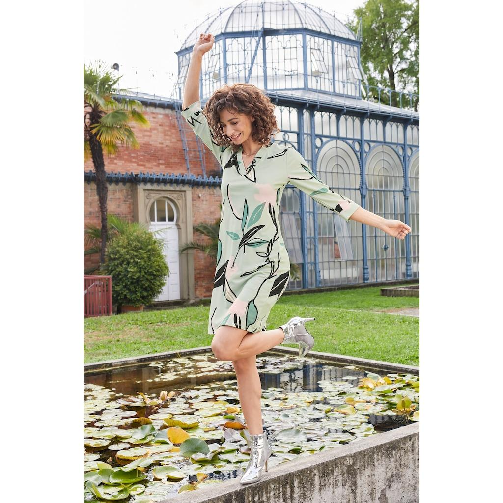 Aniston SELECTED Jerseykleid, im malerischen Druck - NEUE KOLLEKTION