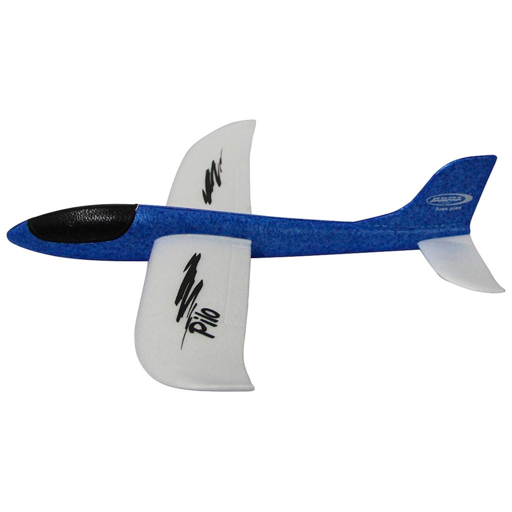 Jamara Spielzeug-Flugzeug »Pilo«, Wurfgleiter aus Schaumstoff