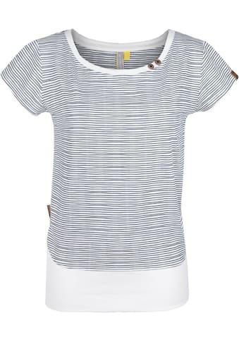 Alife & Kickin T-Shirt, Sportliches Shirt mit breitem Bündchen kaufen