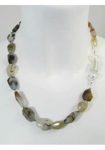 Adelia´s Kette ohne Anhänger »Achat Montana Halskette« kaufen