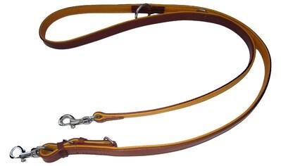 HEIM Hundeleine »Ranger«, braun/natur, Länge: 200 cm kaufen