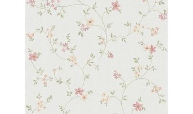 LIVINGWALLS Vliestapete »Fleuri Pastel Landhaus Stil floral« kaufen