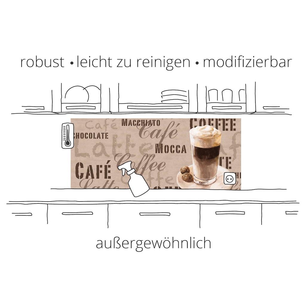 Artland Küchenrückwand »Abstrakte Komposition«