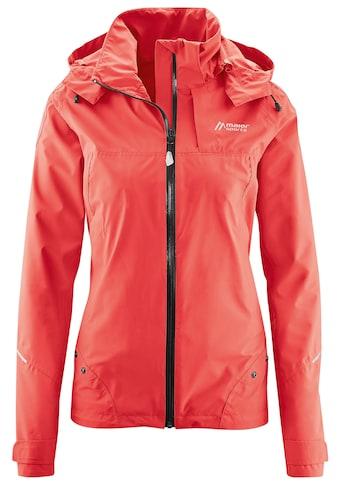 Maier Sports Funktionsjacke »Solveig«, Fernwanderjacke mit patentiertem Regencape kaufen