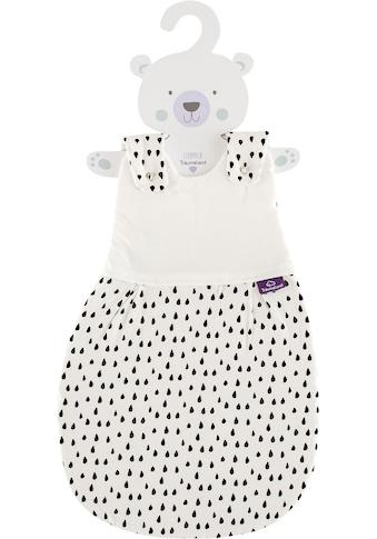 Träumeland Babyschlafsack »Außenschlafsack Tropfen schwarz«, (1 tlg.) kaufen