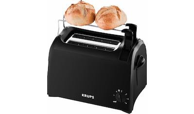 Krups Toaster »Pro Aroma KH1518«, für 2 Scheiben, 700 Watt kaufen