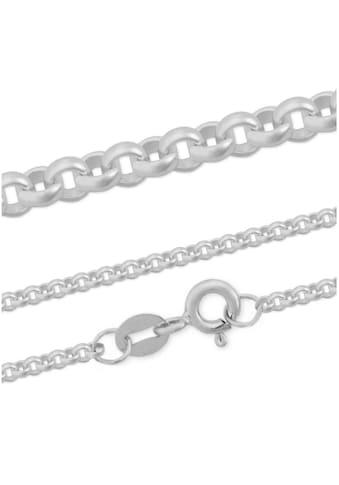Firetti Silberkette »Erbskette, glanz, rhodiniert, massiv« kaufen