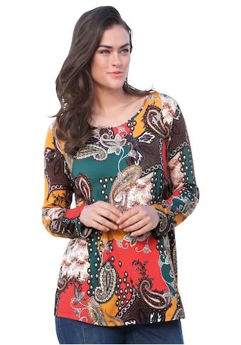 Emilia Lay Rundhalsshirt »mit Rundhals-Ausschnitt« kaufen