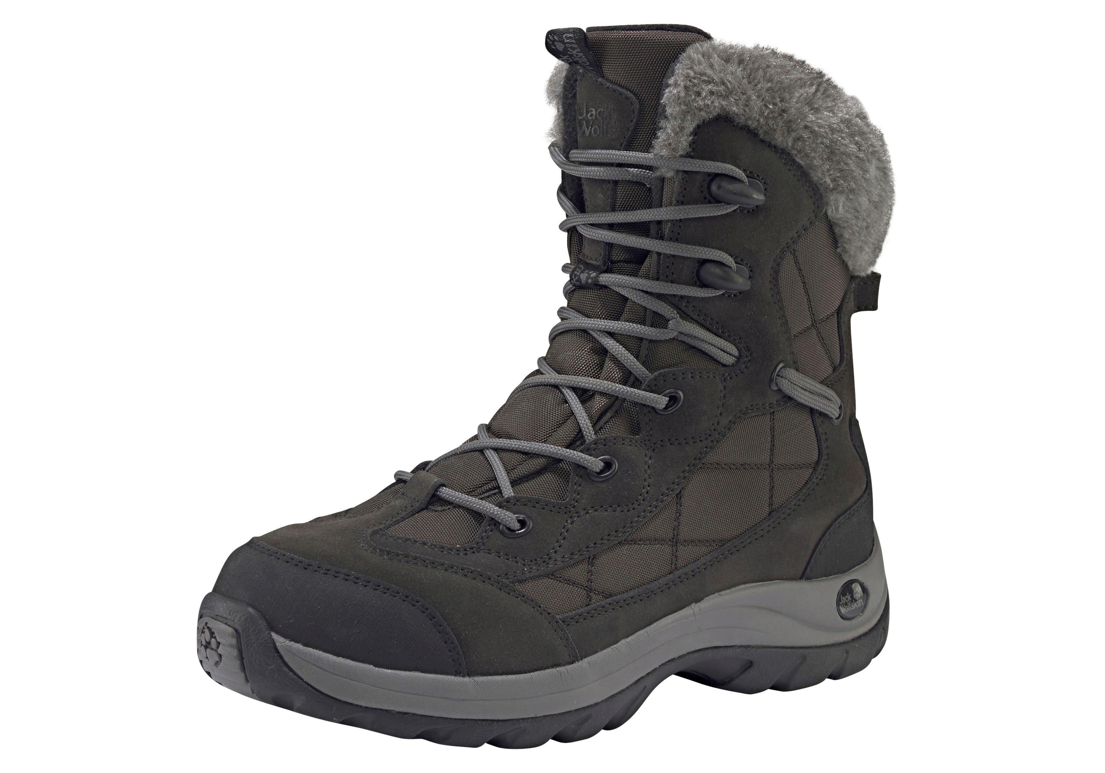 Jack Wolfskin Outdoorwinterstiefel Icy Park Texapore Women   Schuhe > Outdoorschuhe > Outdoorwinterstiefel   Grau   Jack Wolfskin