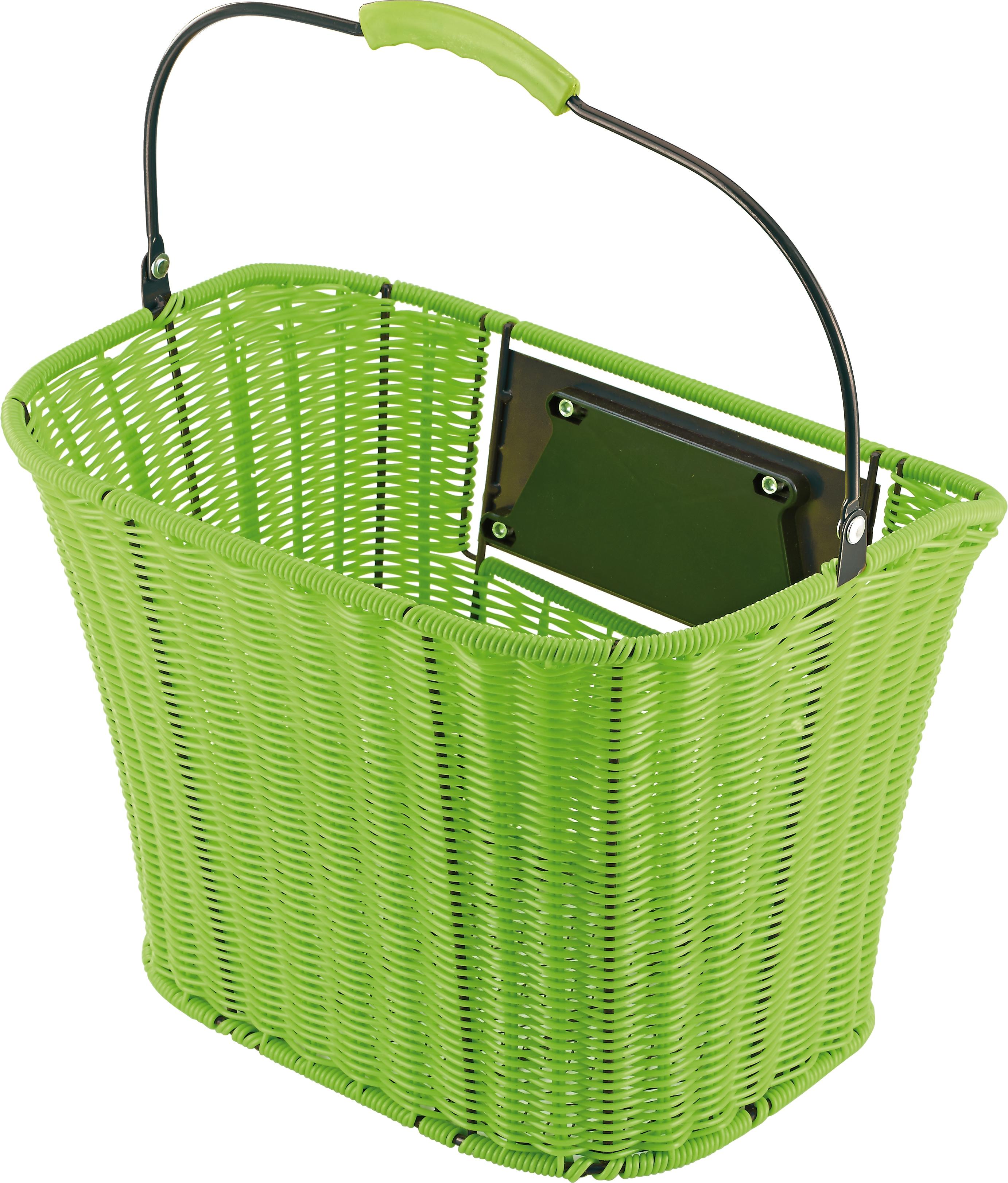 Prophete Fahrradkorb, grün