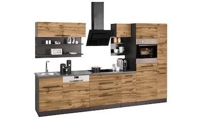 HELD MÖBEL Küchenzeile »Tulsa«, ohne E - Geräte, Breite 320 cm kaufen