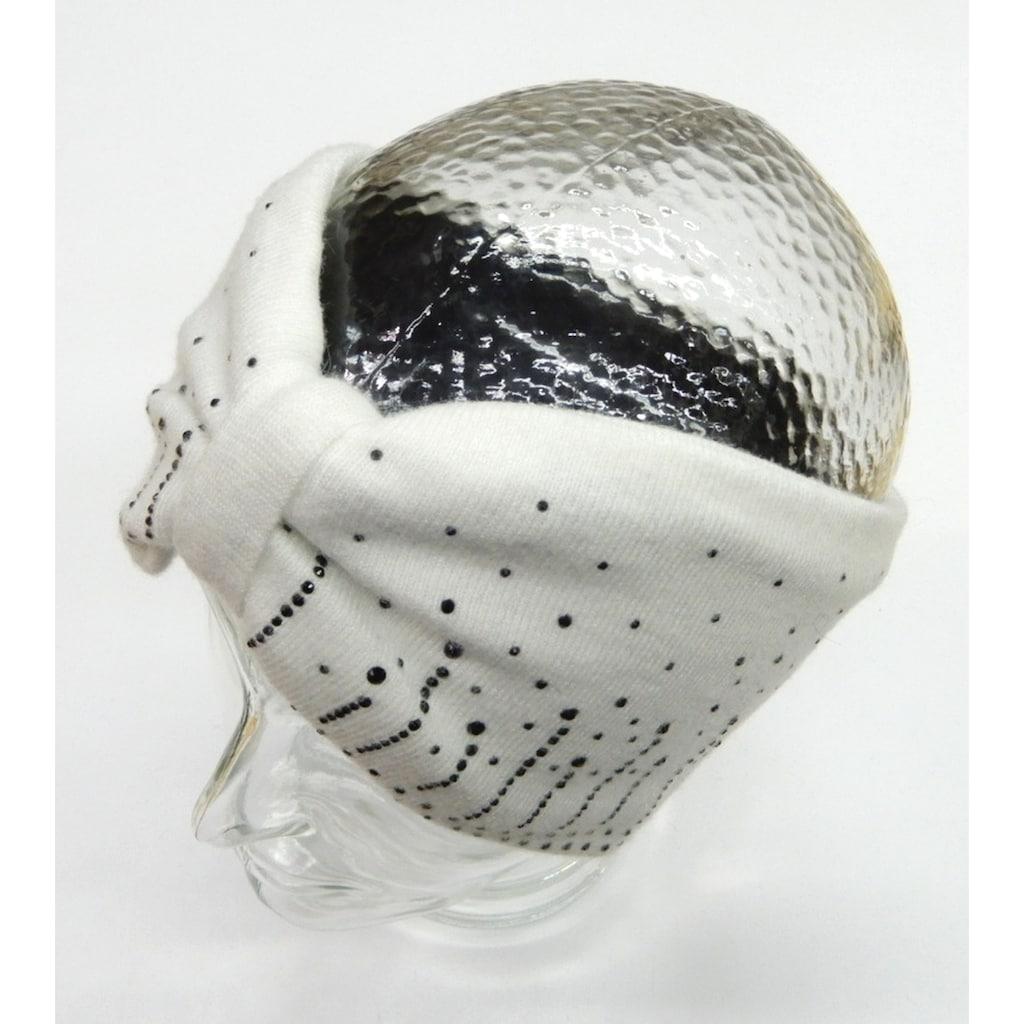 Chaplino Stirnband, mit Strassapplikation