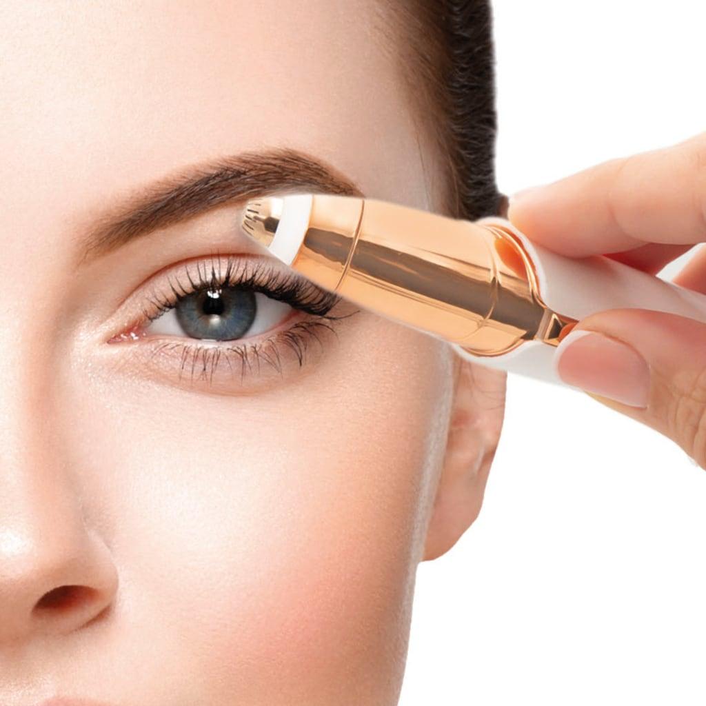 MediaShop Elektrogesichtshaarentferner »ROXY Perfect Brows«, 2 St. Aufsätze, 2in1 für Augenbrauen und Gesichtshaare